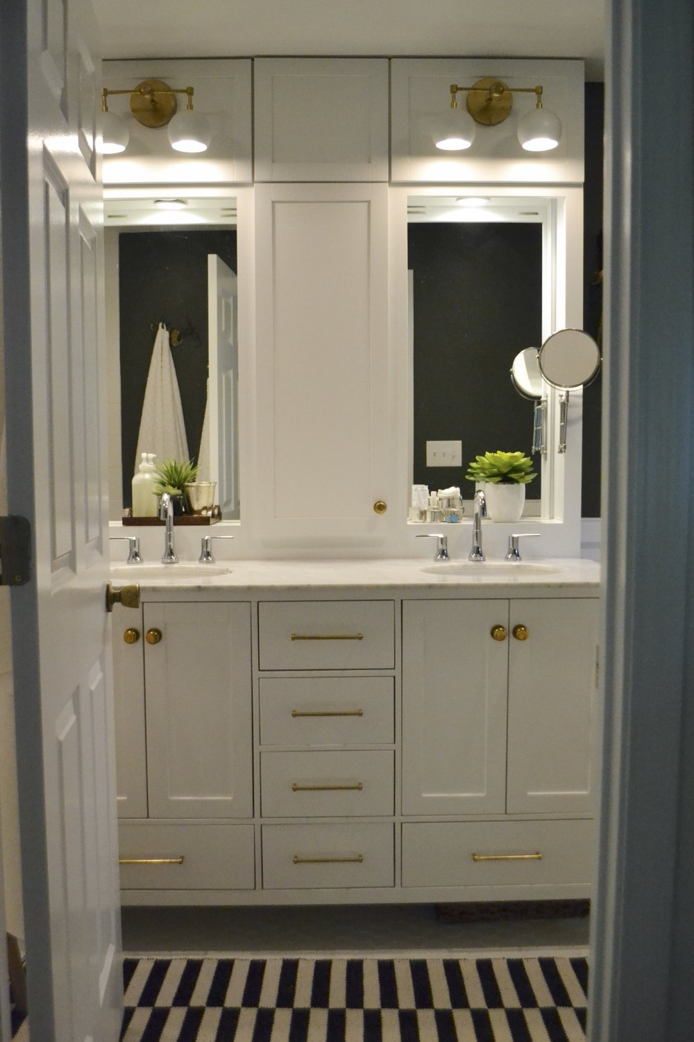 designed long bathrooms. I have been wanting to share this bathroom with you for so very long and  well today s the day This little beauty was designed completely from scratch by A Timeless Bathroom Designed Scratch Cate Holcombe Interiors