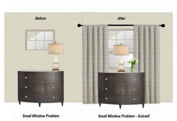Window Treatments for Small, High Windows; A Design ...