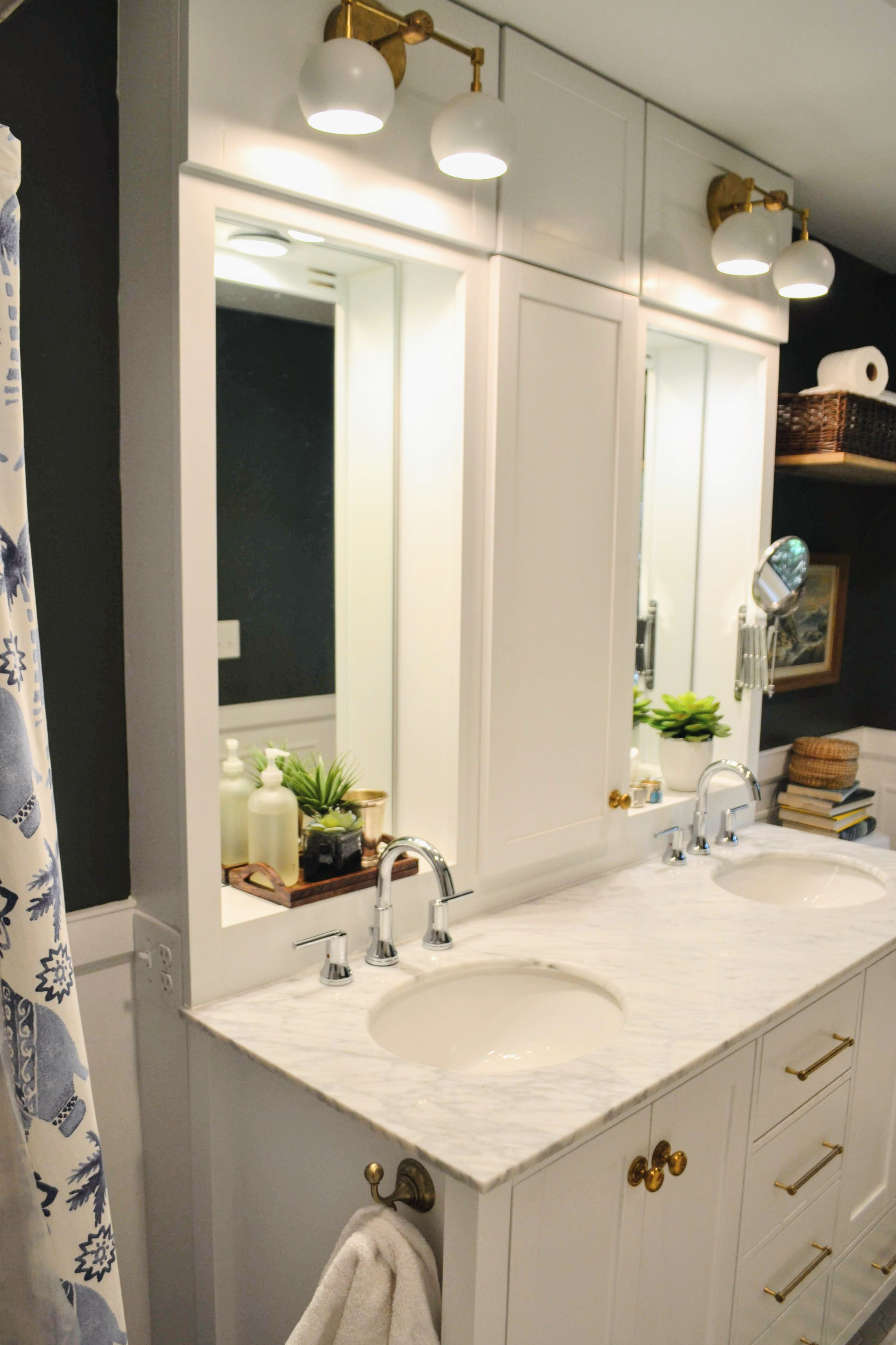 A Timeless Bathroom, Designed from Scratch - Cate Holcombe Interiors
